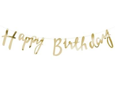 Bänner Happy Birthday 1,5m