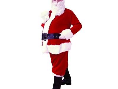 Jõuluvana kostüüm (paksem materjal)