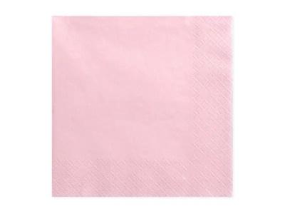 Salvrätikud roosa 20tk