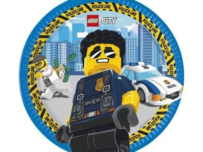 Lego city papptaldrik 8 tk 23cm