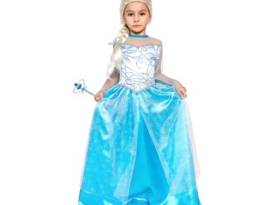 Laste kostüüm Elsa 130/140cm