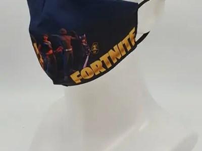 Riidest korduvkasutatav mask Fortnite
