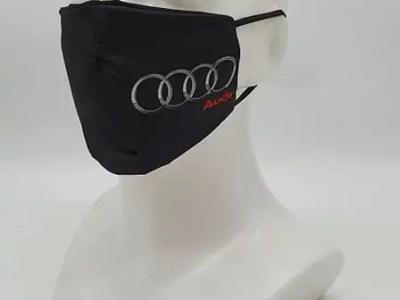 riidest korduvkasutatav näomask Audi