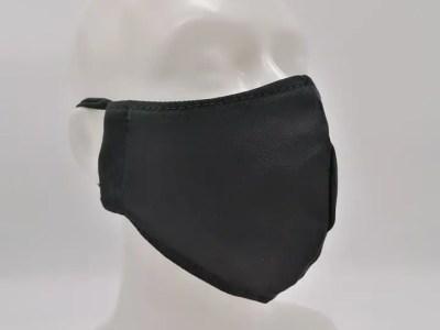 Riidest korduvkasutatav mask meestele