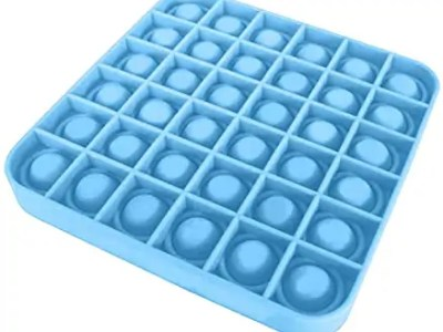 POP IT kandiline sinine 13*13*1,5cm