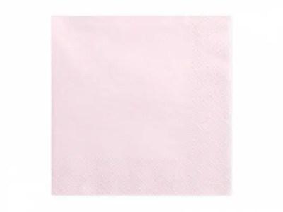 Salvrätikud puuder roosa 20tk, 33*33cm