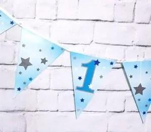 Bänner esimeseks sünnipäevaks 2.9m