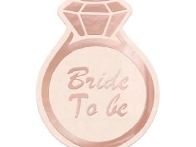 Salvrätikud Bride to be 10tk, 16*12cm
