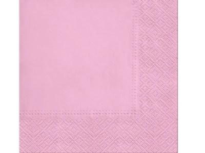 Salvrätikud roosa 20tk/33*33 cm