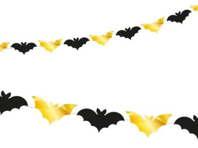 Dekoratsioon Halloweeniks 12nahkhiirt