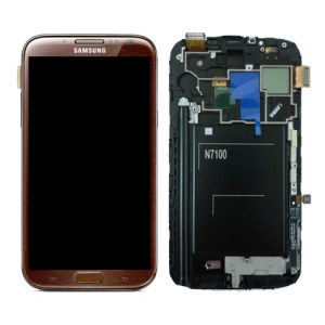 Samsung Galaxy Note 2 Brown LCD Screen