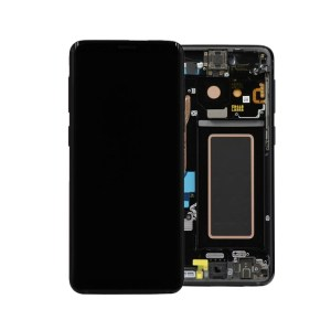 SAMSUNG GALAXY S9 LCD DISPLAY ASSEMBLY MIDNIGHT BLACK