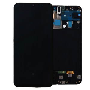SAMSUNG GALAXY A50 LCD DISPLAY ASSEMBLY BLACK