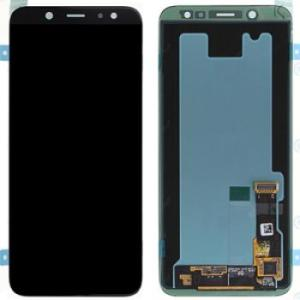 Samsung A6 2018 (A600) LCD Screen Complete With Frame Assembly Unit Black