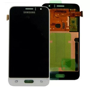 Samsung Galaxy J1 LCD Screen Complete With Frame Assembly White