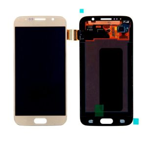 Samsung Galaxy S6 Gold LCD Screen