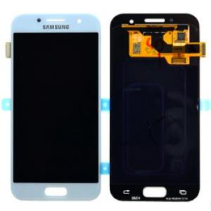Samsung Galaxy A3 2017 Blue LCD Screen