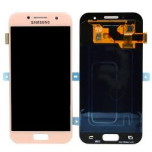Samsung Galaxy A3 2017 Pink LCD Screen