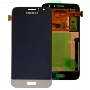 Samsung Galaxy J1 LCD Screen Complete With Frame Assembly Unit Gold