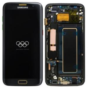 Samsung Galaxy S7 Edge LCD Screen Complete With Frame Assembly Unit Olympic Edition