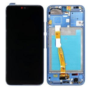 HONOR 10 LCD SCREEN COMPLETE WITH FRAME ASSEMBLY UNIT