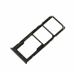 For Samsung Galaxy A50 (A505) Replacement Sim Card Tray Holder With Seal-Black