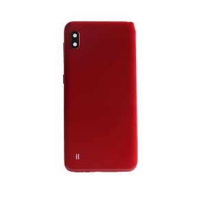 Samsung Galaxy A10 Glass Battery Cover Red