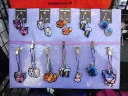 acrylic charms & earrings