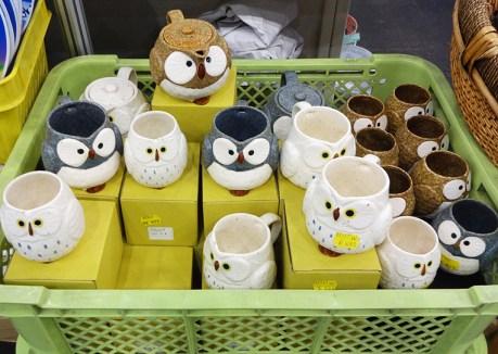 owl mugs