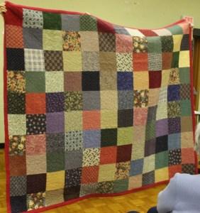 Shirley Foutz - Flannel scraps quilt