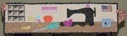 Ann Weaver - Quilt Room Challenge quilt