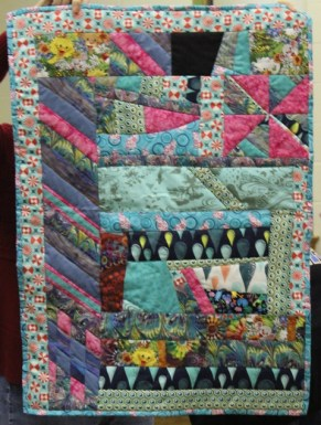 Kathy Martin - Colorful Fun quilt