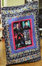 Kathy Martin - Doctor Who quilt