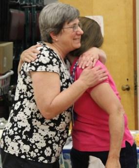 Ann Ware and Kathy Wickham