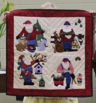Judi Byrd - Santa's Proiects quilt