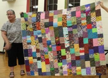 Betty Ann Tyree - Scraps Comfort quilt