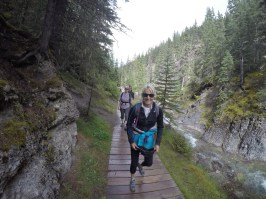 Hiking in the Miette Hot Springs area