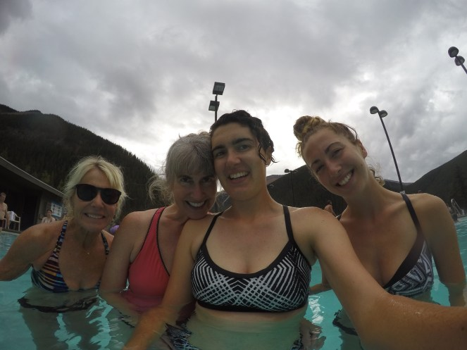 In the Miette Hot Spring Pool