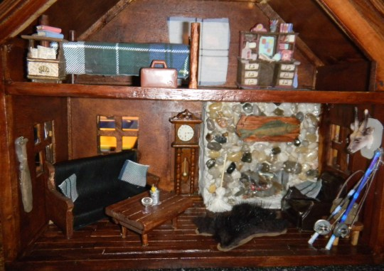 Old Doll House Turned Mini Man Cave Starrs DIY
