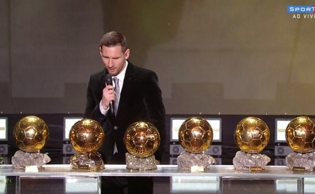 Messi Wins Ballon D Or For Record Sixth Time Starr Fm