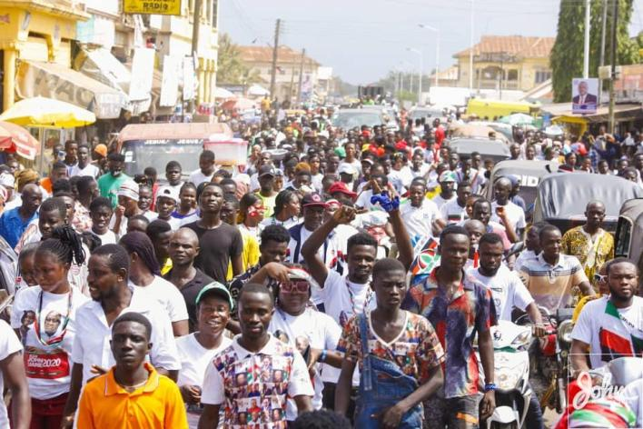 We'll name our promised stadium after you – Berekum Queen mother to Mahama 2