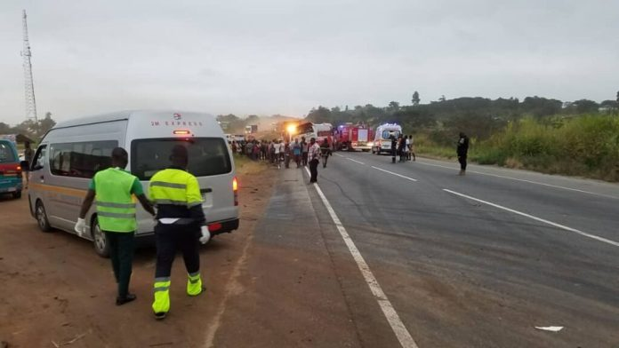 E/R: 11 killed, 80 injured in multiple bus accident at Kyekyewere 1