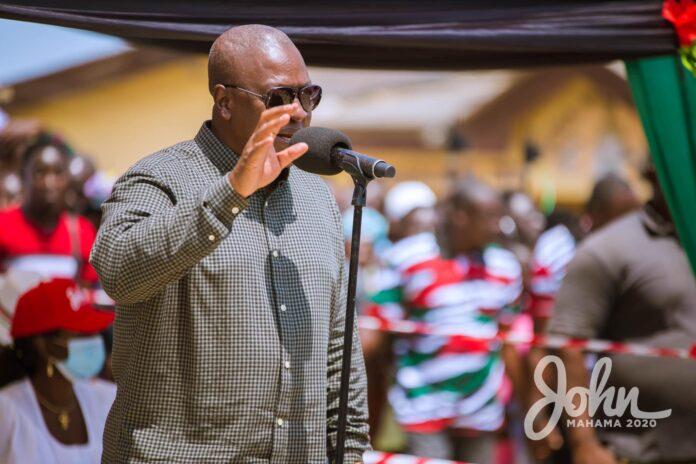 Dec. polls: NDC winning four out of six new regions – Mahama 5