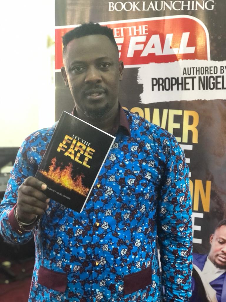Nigel Gaisie launches first book 'Let the Fire Fall' 2
