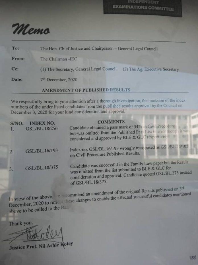 Disquiet at School of Law over IEC's marking delays 2