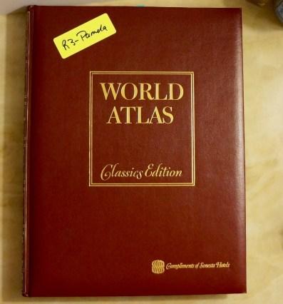 Yellow Stickered Atlas