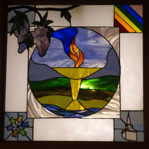 Stained glass window 2-001