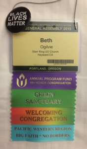 Beth's GA badge