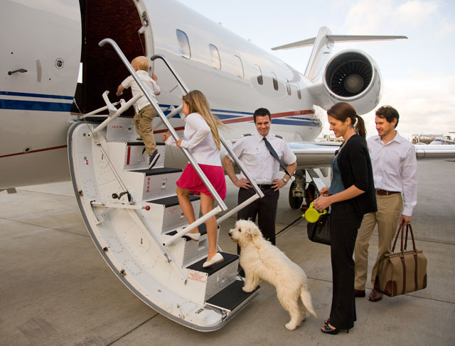 family private jet hire