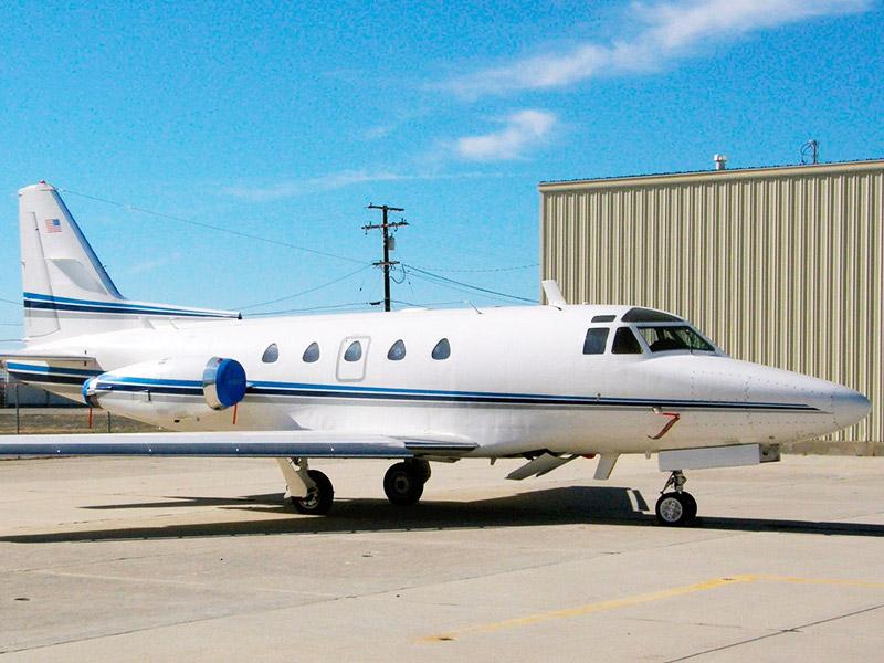 Rockwell NAA Sabreliner 60 / 65 Jet Hire